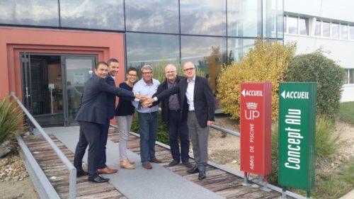 Concept alu signe un accord cadre avec porcelanosa pour - Concept alu les herbiers ...