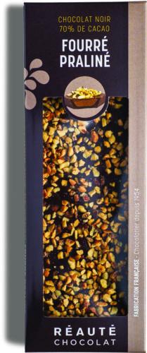 Réauté Choc_Tablette fourre praline chocolat noir 70% 130g.jpg