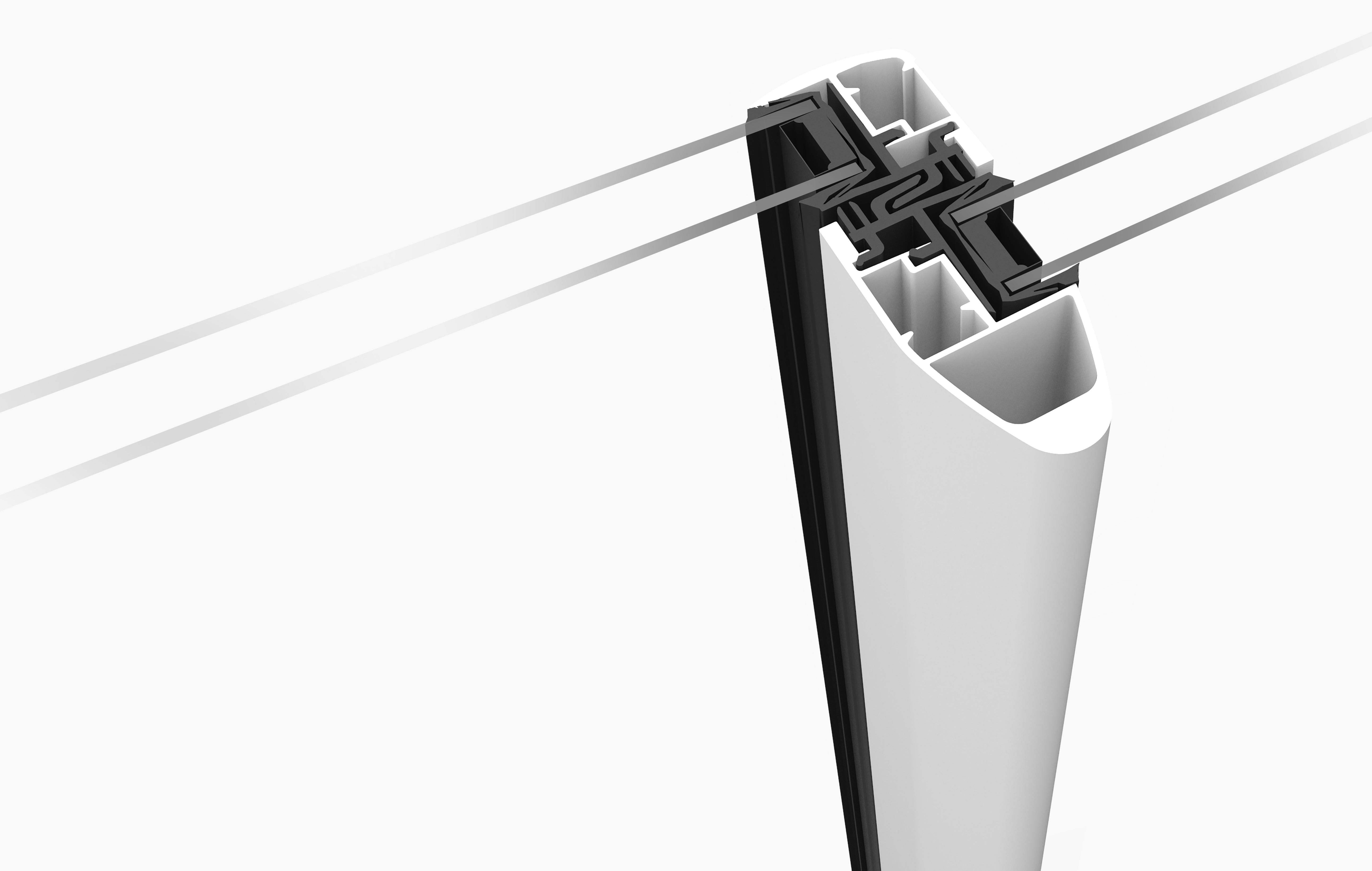 Menuiseries aluminium caib neostory pressroom for Peralu liner