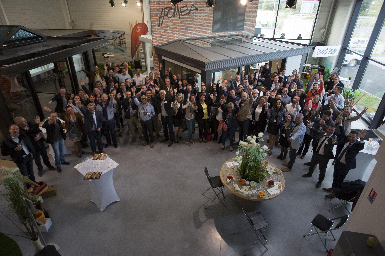 Concept Alu Les Herbiers convention 2016 du réseau concept alu à nantesun succès