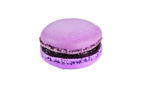 Macaron Cassis Aromatisé Lavande.png