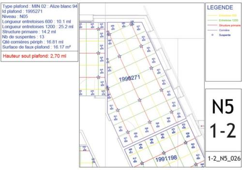 Plan du 5e étage (2)
