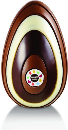 REAUTE CHOCOLAT - oeuf ligne garni decor 600g-jpg