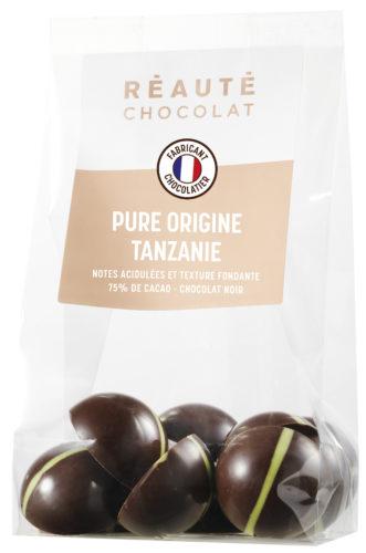 REAUTE CHOCOLAT  - sachet Tanzanie vert-jpg