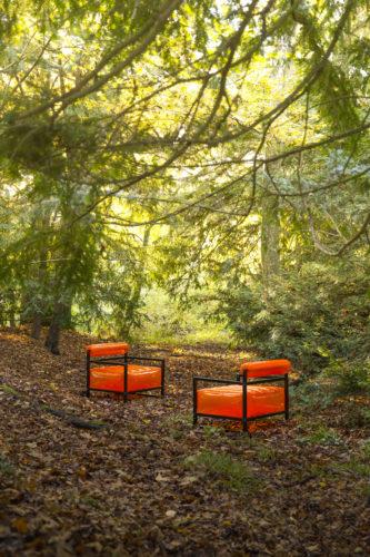 MOJOW - YOKO Fauteuil orange-jpg