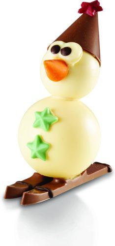 Reaute chocolat noel bonhomme de neige -jpg