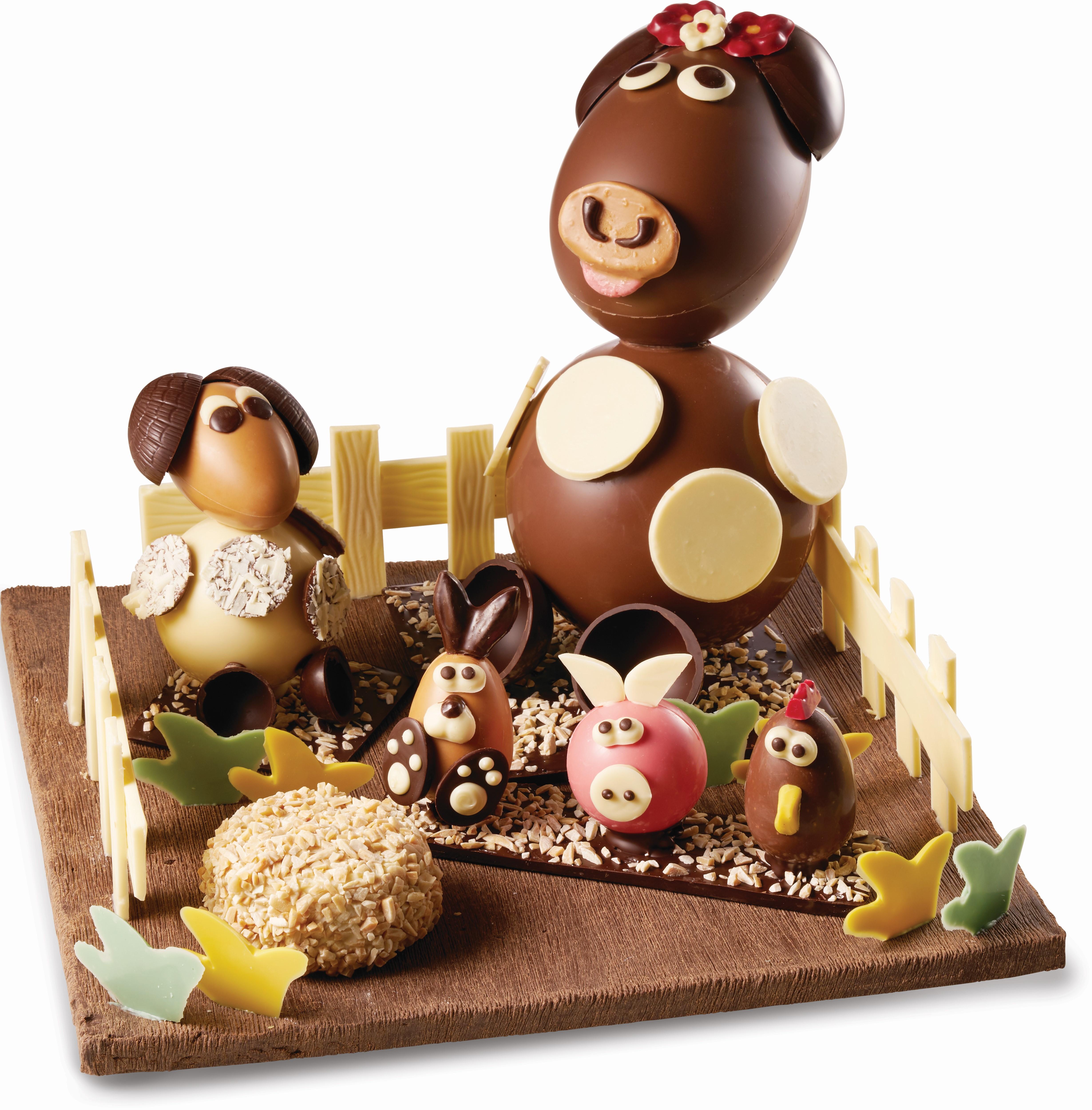 Pour Pâques 2019, RÉAUTÉ CHOCOLAT Propose Une Immersion Gourmande Dans Un  Univers Champêtre. Un Voyage à La Ferme Pour Une Chasse Aux Chocolats De  Pâques En ...