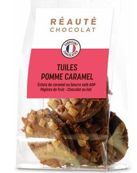 REAUTE CHOCOLATTuiles pomme caramel-png
